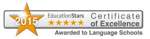 EducationStars Certificate of Excellence 2015