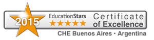 Certiticate of Excellence 2015 CHE Buenos Aires Argentina
