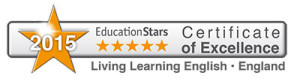Certificate of Excellence 2015 Living Learning England